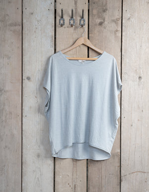 Light Grey and Silver T-Shirt