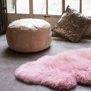 Powder Pink Sheepskin - The Forest & Co.