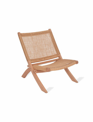 Laid Back Woven Chair