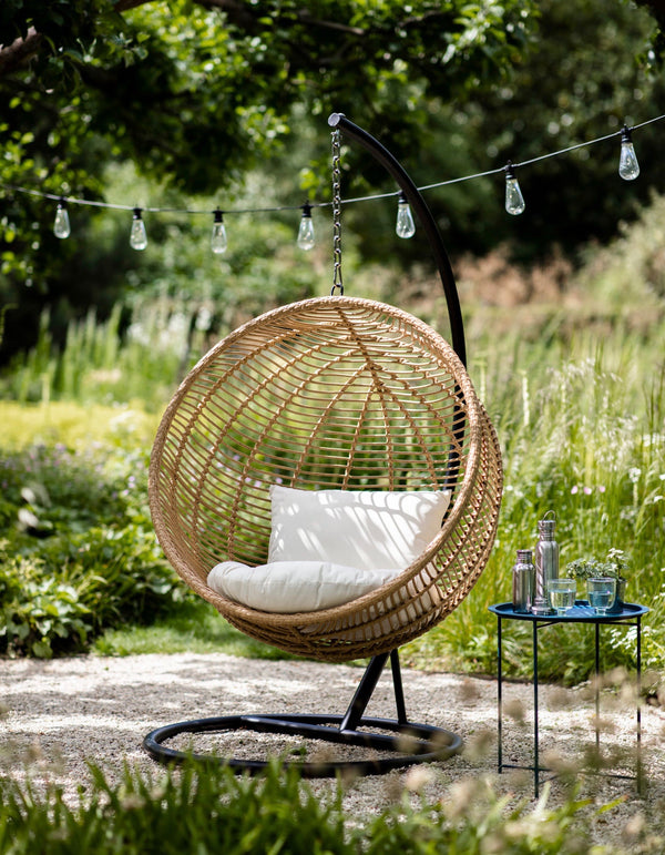 All Weather Bamboo Hanging Nest Chair