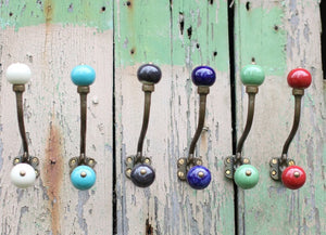 Colour Ceramic Wall Hook
