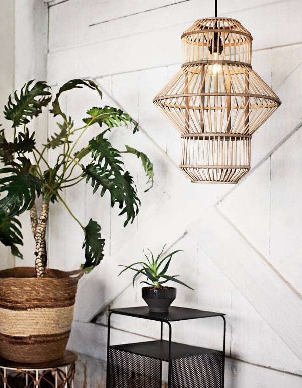 Bamboo Caged Lantern Ceiling light
