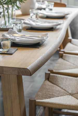 Oak Veneer Dining Table