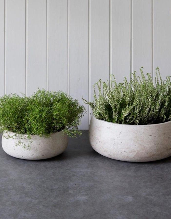 Set Of Two Concrete Bowls