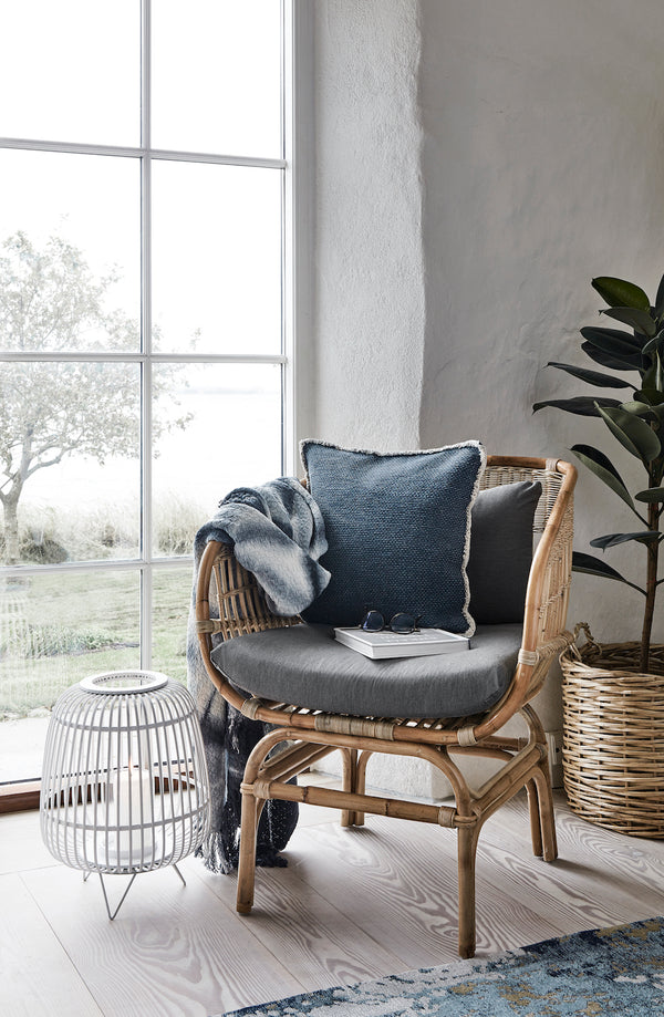 Rattan Armchair With Cushions