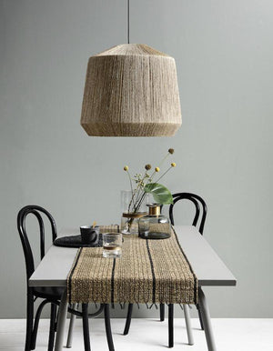 Extra Large Natural Jute Lampshade - pre order for June