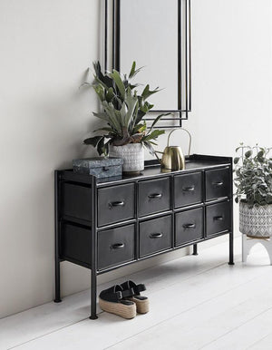 Black Iron Console Table  PRE ORDER MAY