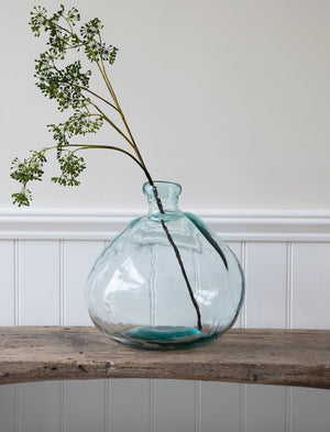 Large Hand Blown Bottle Vases - Two sizes  PRE ORDER MARCH