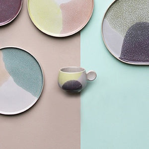 Summer Soft Hues Plate.