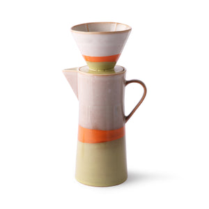 70's Ceramic Coffee Pot. PRE ORDER