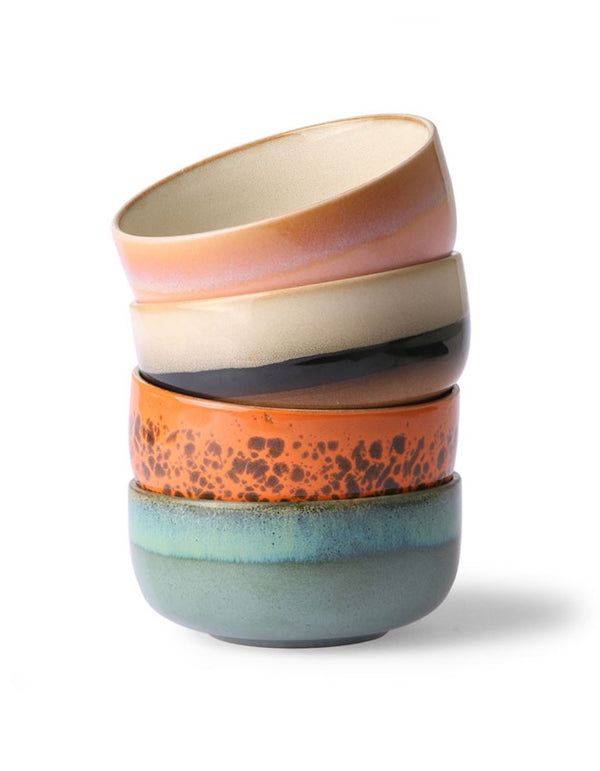 Colourful 70'S Bowls -PRE ORDER MAY