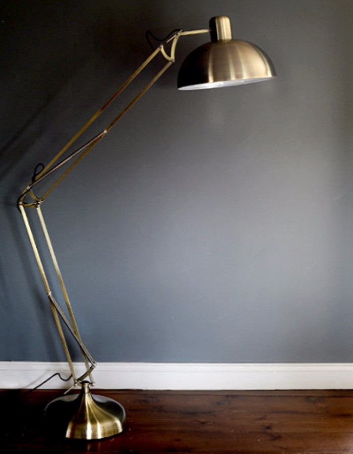 Brushed Gold Floor Lamp The Forest Amp Co