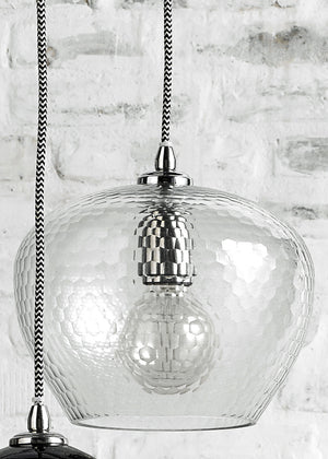 Eclectic Mix Of Glass Pendant Lights - The Forest & Co.