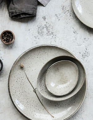 Rustic Stoneware Mini Bowl