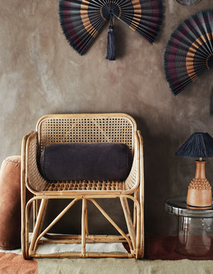 Bamboo Rattan Lounge Chair