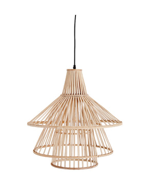 Bamboo Tiered Pendant Light