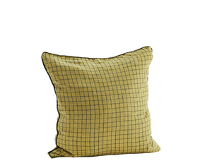 Colourful Checked Linen Cushions