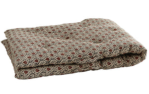 Earthy Block Print Danish Mattress
