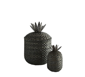 Braided Pineapple Storage Basket