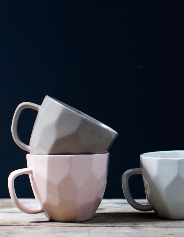 Geometric Cubic Mugs