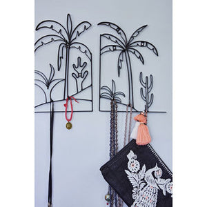 Metal Palm Tree Jewellery Holder