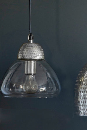 Etched Metal & Glass Pendant Lights - The Forest & Co.