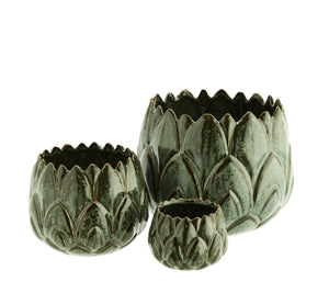 Stoneware Artichoke Planter - PRE ORDER FOR SEPTEMBER