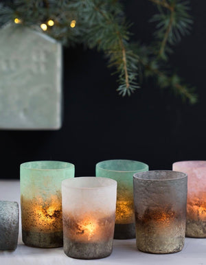 Set Of Eight Twilight Votives