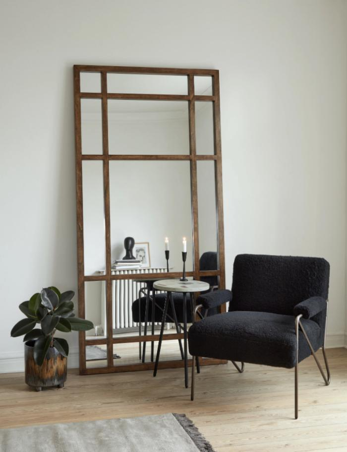 Extra Large Wooden Framed Mirror The Forest Co