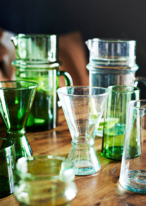 Recycled Glassware Wine Glass