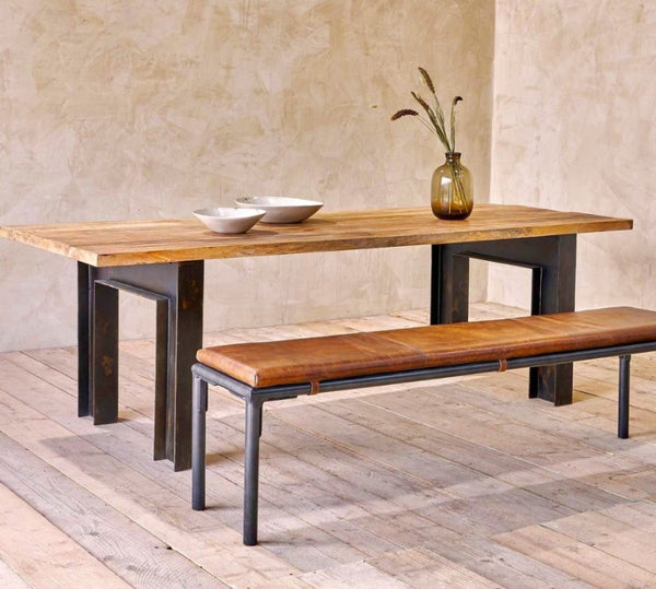 Wooden Table And Benches