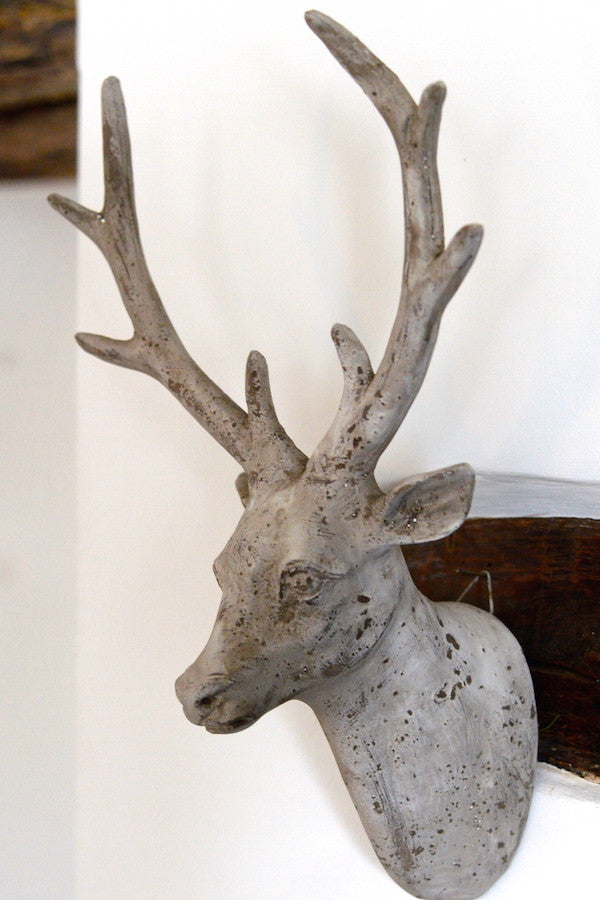 Wall Hung Stag Head - The Forest & Co.