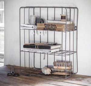 Industrial Wire Wall Shelf - The Forest & Co.