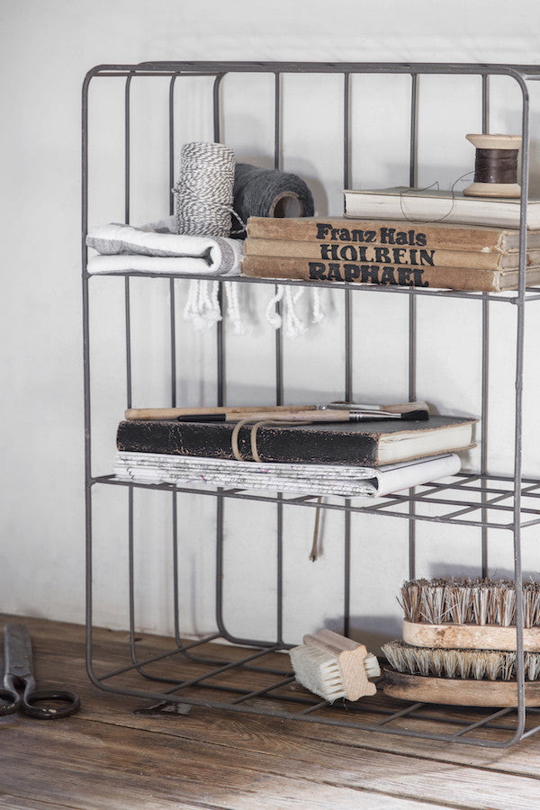 Industrial Wire Wall Shelf The Forest Co