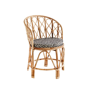 Bamboo Chair With Seat Pad