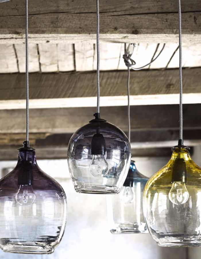 Eclectic hand blown glass pendant lights the forest co eclectric hand blown glass pendant lights the forest co aloadofball Images