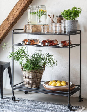 Metal Industrial Drinks Trolley PRE ORDER JULY