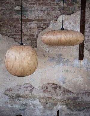 Ash Wood Oval Pendant Shade