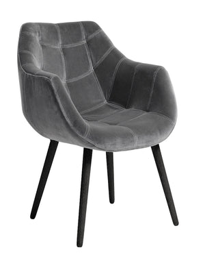 Sumptuous Velvet Dining Chair
