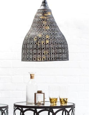 Distressed Moroccan Hanging Light