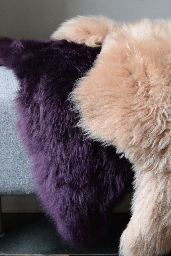 Hand Dyed Devon Sheepskins - The Forest & Co.