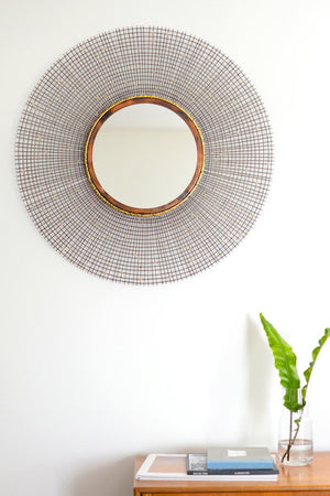 Copper & Gold Sunburst Mirror - The Forest & Co.