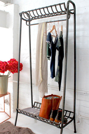Cast Iron Clothes Rail - The Forest & Co.