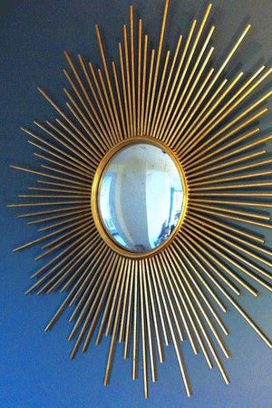 Gold Sunburst Wall Mirror - The Forest & Co.