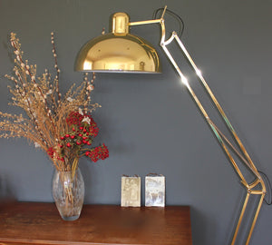 Golden Floor Lamp - The Forest & Co.