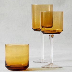 Retro Amber Glasses