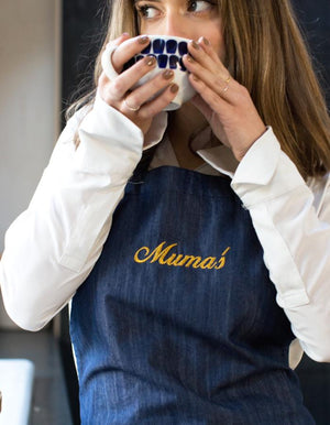 Personalised Denim Apron