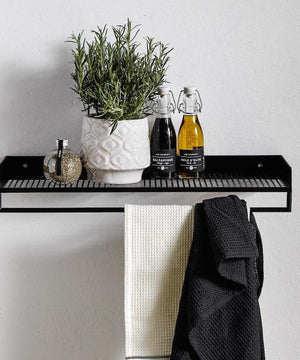 Danish Wall Mounted Towel Rail
