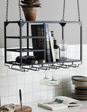 Over Island Storage/Display Rack