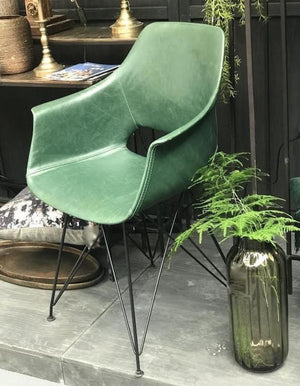 Emerald Green Arm Chair